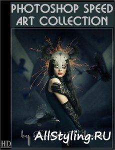 Photoshop Speed Art Collection (2017) HDRip
