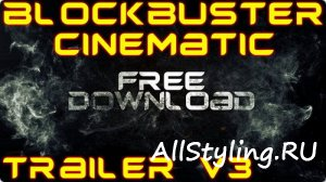 Blockbuster Trailer Titles v3 - After Effects Template
