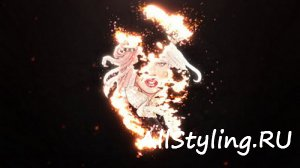 Epic Burning Logo - Fire Logo - After Effects Template