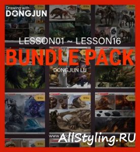 Gumroad - Lu Dongjun: Bundle Pack! Lesson01 To 16