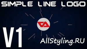 Simple Line Logo v1 - After Effects Template