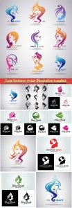Logo business vector illustration template # 64