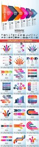 Infographics vector template for business presentations or information banner # 8
