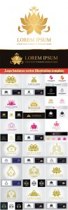 Logo business vector illustration template # 65