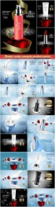 Beauty vector cosmetic product poster # 19