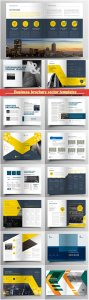 Business brochure vector templates, magazine cover, business mockup, education, presentation, report # 72