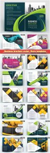 Business brochure vector, flyers templates # 74