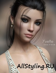 P3D Yvette for Genesis 8 Female