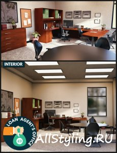 i13 Loan Agent's Office Interior