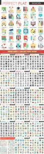 Infographics concept icons vector illustration