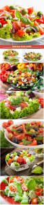 Delicious fresh salads