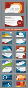 Business card vector templates # 33