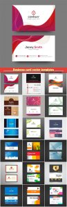 Business card vector templates # 40