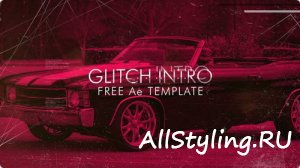 Simple Glitch Intro  - After Effects Templates