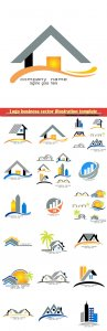 Logo business vector illustration template # 110