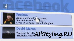 Проект ProShow Producer - Timeline Facebook Slideshow