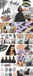CM - Witch Please Halloween Design Kit 2741107