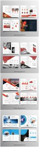 Brochure template vector layout design, corporate business annual report, magazine, flyer mockup # 241