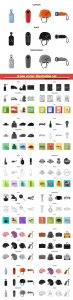 Icons vector illustration set # 9