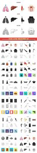 Icons vector illustration set # 8