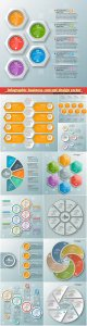 Infographic business concept design vector illustration # 4